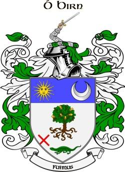 BURNS family crest