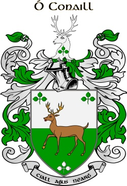 O'CONNELL family crest