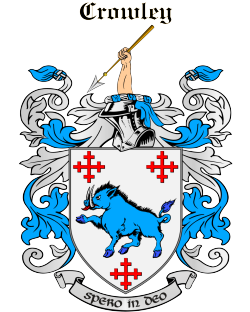 CROWLEY family crest