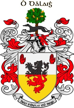 Daly family crest