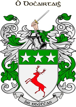 DOHERTY family crest