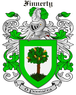 FINNERTY family crest