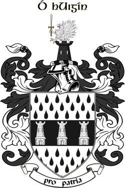 O'HIGGINS family crest