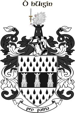 Higgins family crest