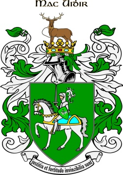 MAGUIRE family crest
