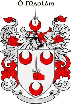MULLIN family crest