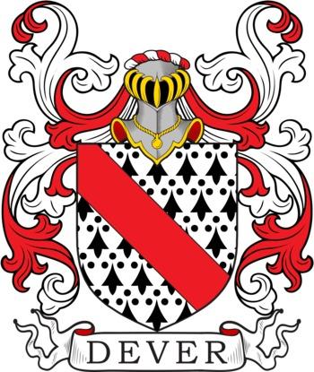 DEVER family crest