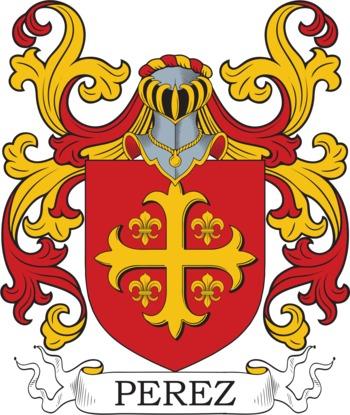 PEREZ family crest