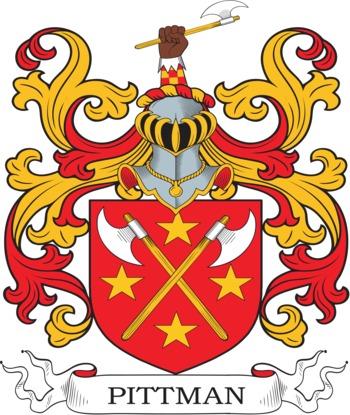 PITTMAN family crest