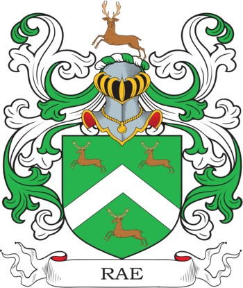 RAE family crest