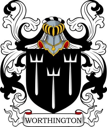 WORTHINGTON family crest
