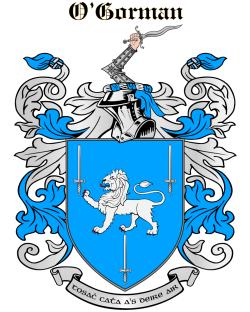 O'GORMAN family crest