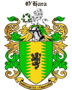 O'HARA family crest