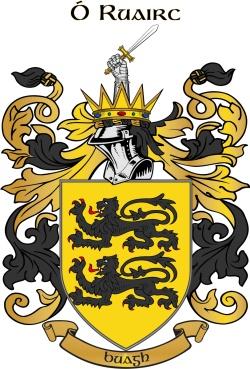 ROURKE family crest